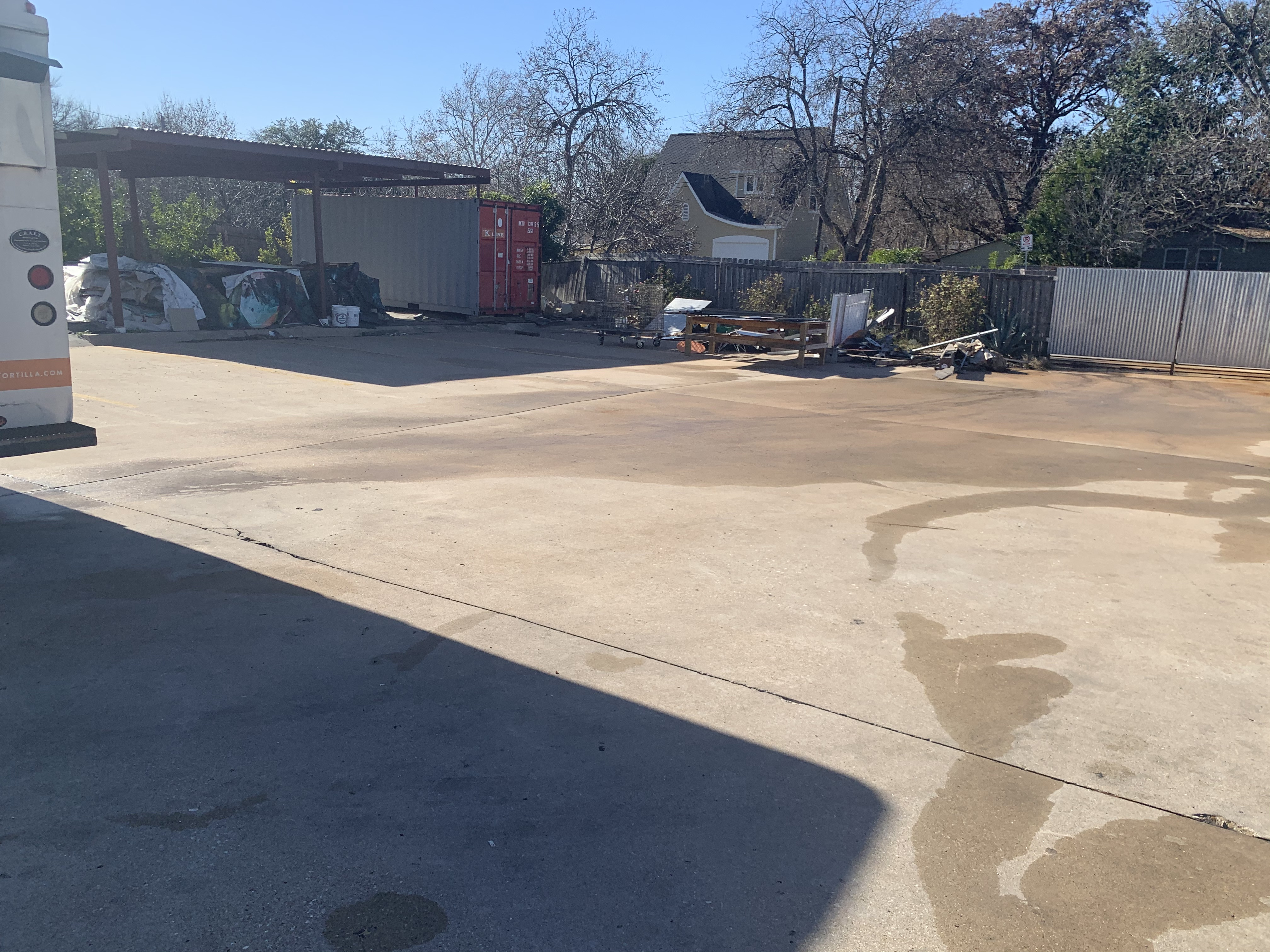 Commercial Lot Pressure Washing